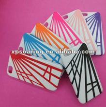 Two tone plastic case back cover for iphone 5