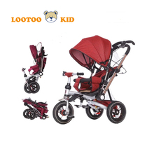 CE standard smart trike reviews / newest three wheel children tricycle / 2 and 3 years ride on tricycle for kids