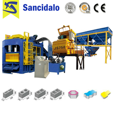 Factory Directly QT8-15 automatic hydraulic press concrete block making machine for construction machinery