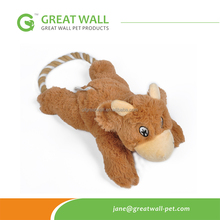 2015 Fashion Brown Bear Plush for dog chewing or <strong>training</strong>