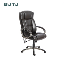 BJTJ high back black leather massage office chair for body healthcare massage