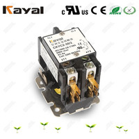 CUL certificate cjx9 air conditioning magnetic 30-90a 120v 240v 2 pole dp contactor