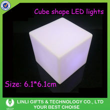LED keychain cube with 3 flashing model