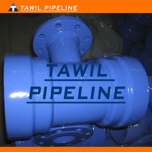 TAWIL double socket tee flanged