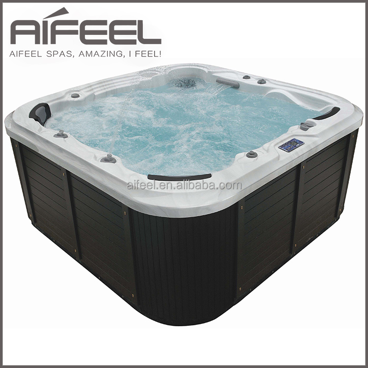 luxury outdoor 6 person hot tub freestanding acrylic portable whirlpool massage spa buy. Black Bedroom Furniture Sets. Home Design Ideas