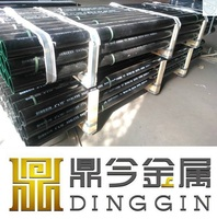 ASTM A888 no-hub good price cast iron soil pipe coated by black bitumem