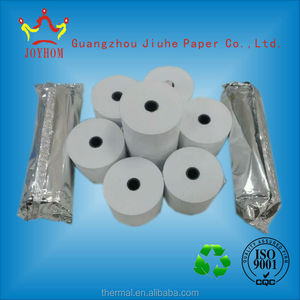 High brightness cash register paper 57mm printed thermal pos paper receipt paper rolls