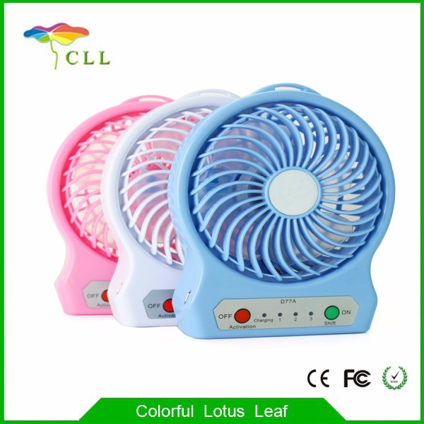 New design wholesale mini fan small usb fan desk rechargeable fan with low price