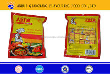 4g/piece, 10pieces/box, 160boxes/carton, HALAL chicken beef hish mushroom bouillon cube flavour cube stock cube seasoning cube