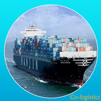 sea freight containers forward from shanghai China to America--Alex mail (alex@co-logistics.com)