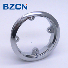 round arc adge elevator parts push button ring frame stainless steel with 4 thread fixing