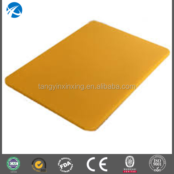 High density polyethylene plastic clean cutting boards