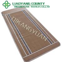 FIR korea heat therapy massage pad bio Amethyst back support mat