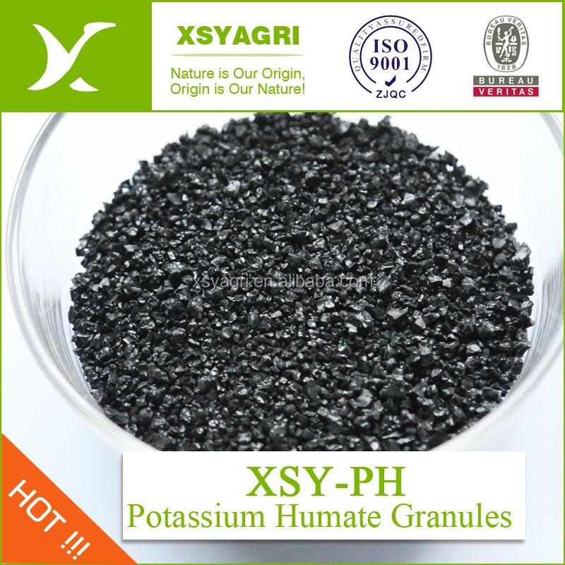 100% Super Potassium Humate for horticultural plants/ foliar fertilizer