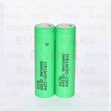 Hoverboard segway battery lithium ion battery samsung ICR18650-22FM 2200mAh 3.7v rechargeable for samsung 18650-22FM