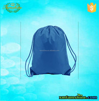 promotion sport drawstring custom made nylon bag
