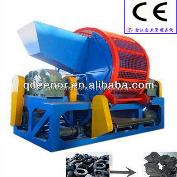 Waste Tyre Recycling Machinery / Rubber Powder Production Line