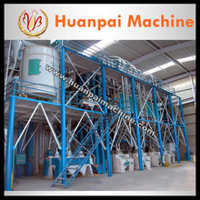 maize grinding mill corn flour/meal/grits processing line