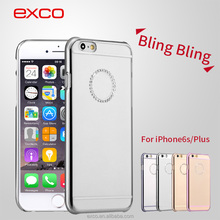 EXCO Ultrathin Smartphone Case OEM Mobile Accessories Fashion rose gold 6s PC Protective Case for iPhone 6s plus