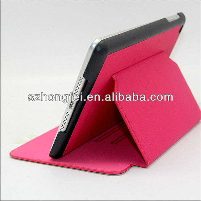 folio booklet smart case for ipad mini with business card pocket