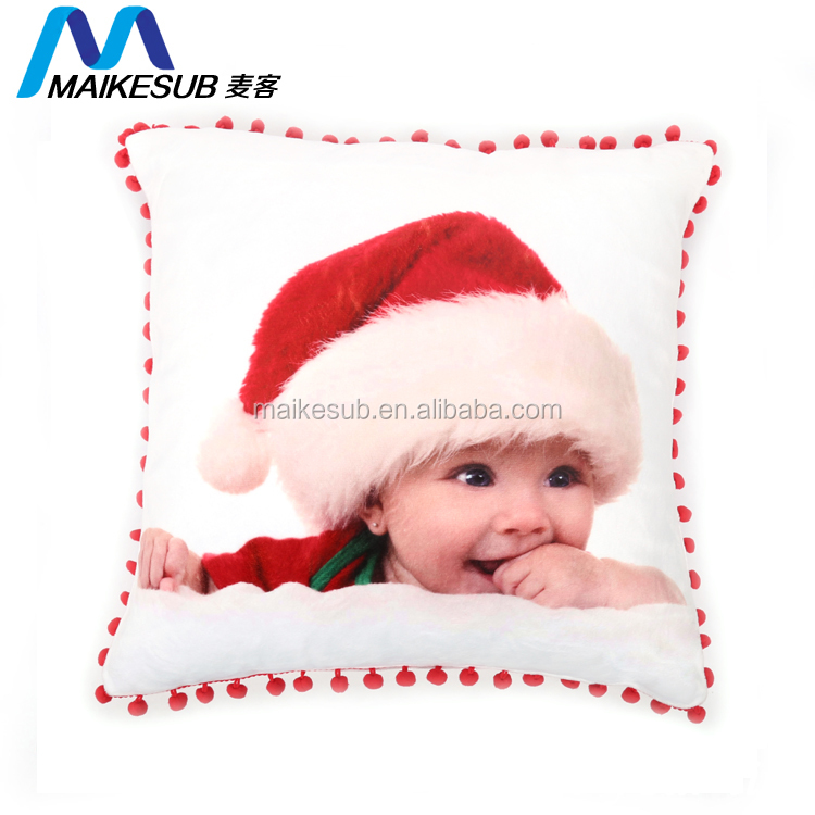 Wholesale high quality sublimation blank bolster pillow neck pillow case