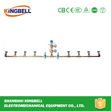 manual medical manifold gas pipeline system