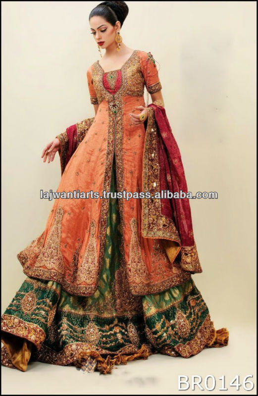 Pakistani fashion wedding dress