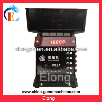 Esay take mini game machine coin counter