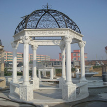Outdoor garden wrought iron gazebo for sale