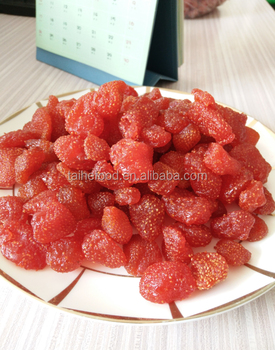 2017New process and low price of dried strawberry sour and sweet