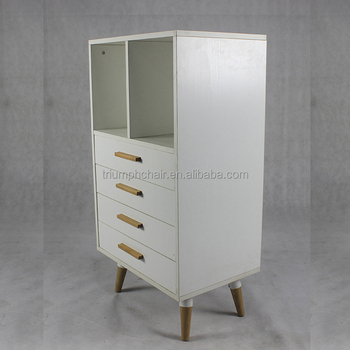 Triumph Wholesale Solid Wood Large Drawer White Cabinet for Office living room