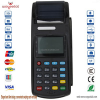 EMV and PCI certificated financial mobile payment pos terminal
