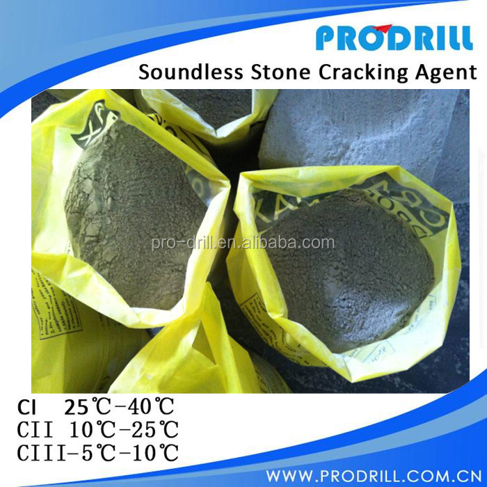 Soundless Cracking Agent ,Non Explosive Demolition Agent, rock Demolition Agent