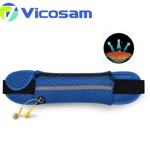 2017 new style wholesale cheap fashion fitness runner elastic waist bag
