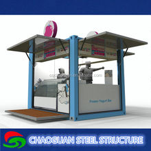 Combined welding steel frame office/school container house