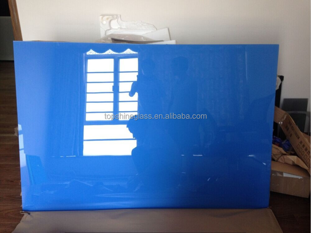4mm 5mm 6mm 8mm Dry Erase Notice Glass Boards with certification EN12150, AS/NZS 2208:1996, BS6206