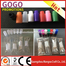 Transparent Individually Packing Silicone Test Mouthpiece Cover Drip Tip E-cig Testing Disposable Mouth driptip for E cigarettes