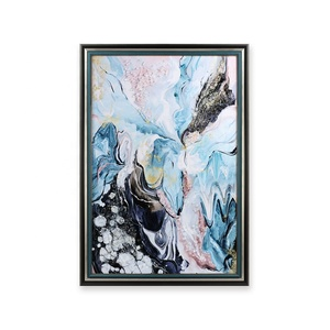 Unique Abstract Handmade Decorative Home decor Glossy Painting Wall Art Crystal Art Frame Art