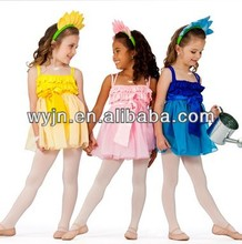 dancing costumes for kids, fluffy tutu skirt for girls,country costume