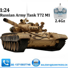 2.4G RC tank for sale T72 VS Tank with shooting BB Russian Tank T72 M1