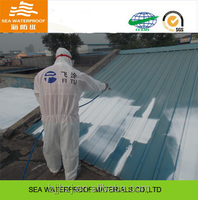 Heat Insulation flexible waterproof roof coating