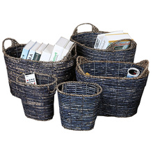 2018 cheap storage weaving large gift wicker baskets