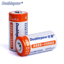 Full high Capacity 3V CR123A 16340 450mAh rechargeable li-ion Lithium battery cell