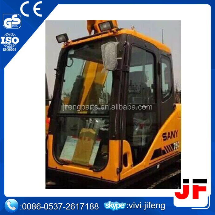OEM parts PC200-7 operator cabin 20Y-54-01141 excavator cabin assy seat and air conditioning