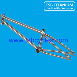 Hot sale cheap titanium bmx bike frame TSB-BM1101