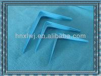 high quality power coating shelf bracket