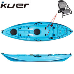 Cheap rotomolded plastic fishing boats from kuer kayak