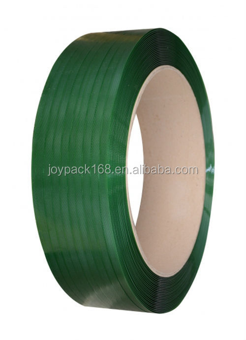 Top Quality Green Plastic PET Strapping with High Tensile 12mm 19mm 16mm 25mm