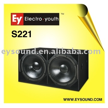 subwoofer double 21 inch bass S-221