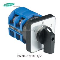 CE Approval 10A, 20A, 32A, 64A, 125A rotary timer switch With Key ON and OFF